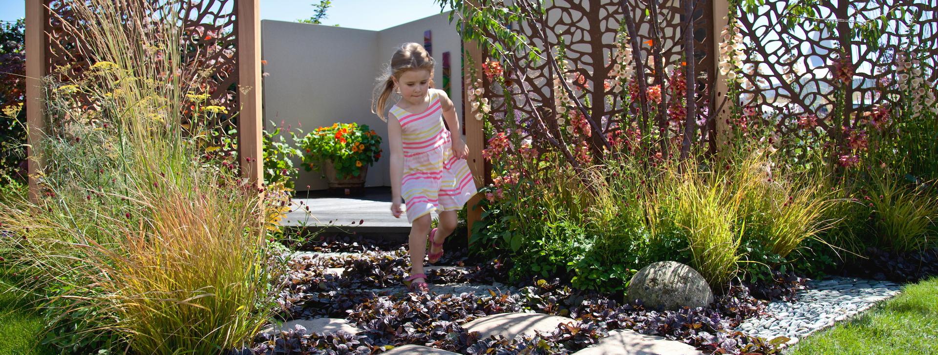 Creating garden landscapes to nurture & inspire